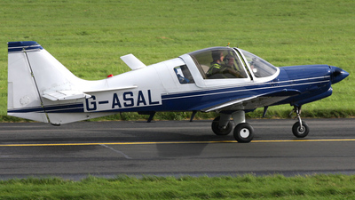 G-ASAL - Scottish Aviation Bulldog 124 - Private