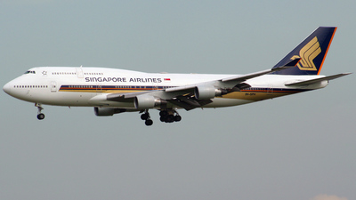9V-SPH - Boeing 747-412 - Singapore Airlines