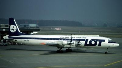 SP-LSE - Ilyushin IL-18V - LOT Polish Airlines