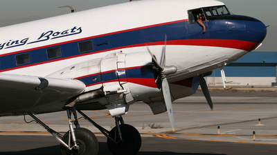 N403JB - Douglas DC-3C - Catalina Flying Boats