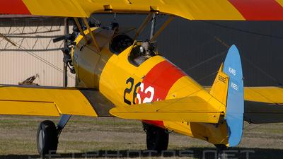 A picture of N34KS - Boeing PT17 Kaydet - [755384] - © Agustin Anaya