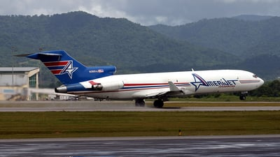 N395AJ - Boeing 727-233(Adv)(F) - Amerijet International