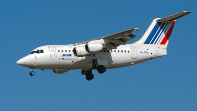 G-JEAU - British Aerospace BAe 146-100 - Air France (British European)