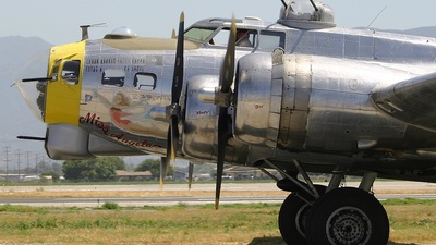 N3509G - Boeing B-17G Flying Fortress - Private