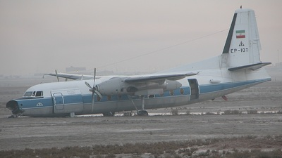 EP-IOT - Fokker F27-500 Friendship - National Iranian Oil Company (NIOC)