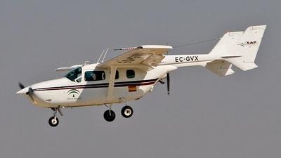 EC-GVX - Reims-Cessna F337G Super Skymaster - Private