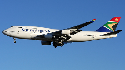 ZS-SAY - Boeing 747-444 - South African Airways