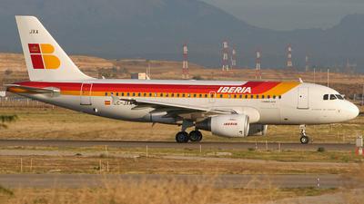 EC-JXA - Airbus A319-111 - Iberia
