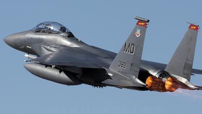 88-1705 - McDonnell Douglas F-15E Strike Eagle - United States - US Air Force (USAF)