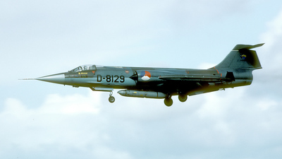D-8129 - Lockheed RF-104G Starfighter - Netherlands - Royal Air Force