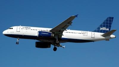 N536JB - Airbus A320-232 - jetBlue Airways