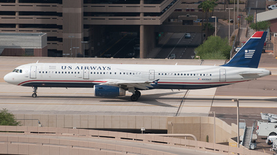 N508AY - Airbus A321-231 - US Airways