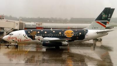 G-BKYK - Boeing 737-236(Adv) - British Airways