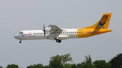 G-BWDA - ATR 72-202 - Aurigny Air Services