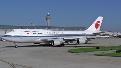 B-2460 - Boeing 747-4J6(M) - Air China