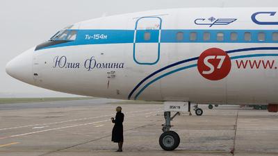 RA-85619 - Tupolev Tu-154M - S7 Airlines