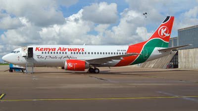 5Y-KYN - Boeing 737-306 - Kenya Airways