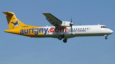G-BXTN - ATR 72-202 - Aurigny Air Services