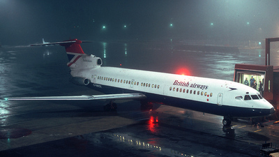 G-AWZX - Hawker Siddeley HS-121 Trident 3 - British Airways