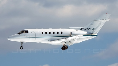 N824LX - Raytheon Hawker 800XP - Private