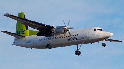 YL-BAR - Fokker 50 - Air Baltic