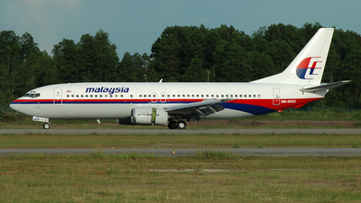 9M-MQQ - Boeing 737-4Y0 - Malaysia Airlines