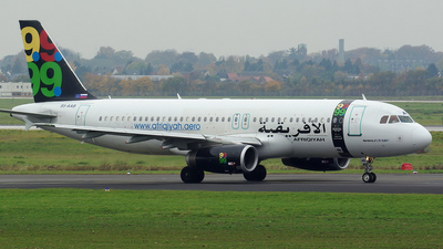 S5-AAB - Airbus A320-231 - Afriqiyah Airways (Adria Airways)