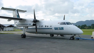 YJ-RV6 - Bombardier Dash 8-102 - Vanair
