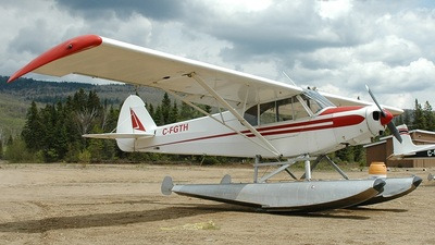 C-FGTH - Piper PA-18 Super Cub - Private