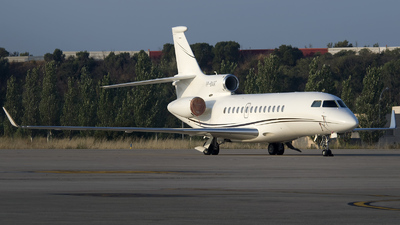 VP-BAR - Dassault Falcon 7X - Private