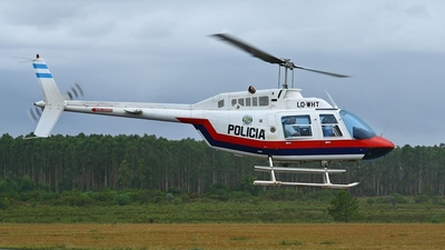 LQ-WHT - Bell 206B JetRanger II - Argentina - Misiones Police
