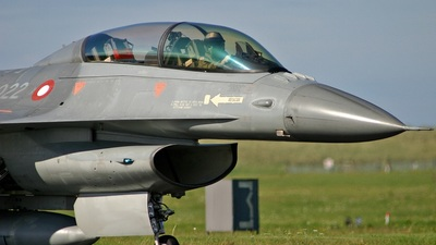 ET-022 - General Dynamics F-16BM Fighting Falcon - Denmark - Air Force
