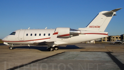 N604GM - Bombardier CL-600-2B16 Challenger 604 - Private