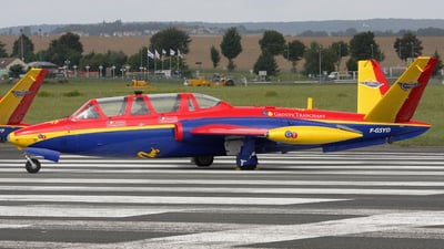 F-GSYD - Fouga CM-170 Magister - Private