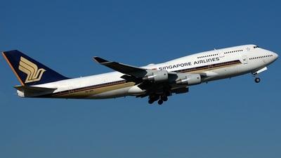 9V-SPI - Boeing 747-412 - Singapore Airlines