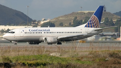 N17344 - Boeing 737-3T0 - Continental Airlines