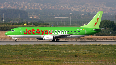 OO-TUM - Boeing 737-4B3 - Jet4you