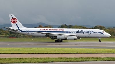 ZS-OZV - Douglas DC-8-62H(F) - African International Airways