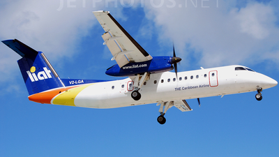V2-LGA - Bombardier Dash 8-311 - Leeward Islands Air Transport (LIAT)