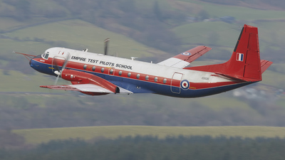 XS606 - Hawker Siddeley Andover C.1 - Empire Test Pilots School