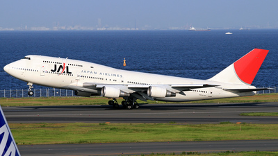 JA8084 - Boeing 747-446D - Japan Airlines (JAL)