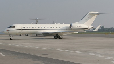 OE-IGS - Bombardier BD-700-1A10 Global Express - Tyrolean Jet Services
