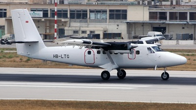A picture of HBLTG - De Havilland Canada DHC6300 Twin Otter - Zimex Aviation - © Roberto Benetti