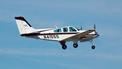 A picture of N4155S - Beech E55 Baron - [TE1001] - © Jordan Duncan