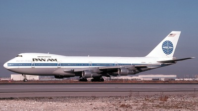 N730PA - Boeing 747-212B - Pan Am