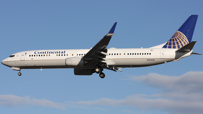 N75425 - Boeing 737-924ER - Continental Airlines