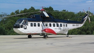 9M-SSS - Sikorski S-61 - MHS Aviation