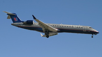 N513MJ - Bombardier CRJ-701ER - United Express (Mesa Airlines)