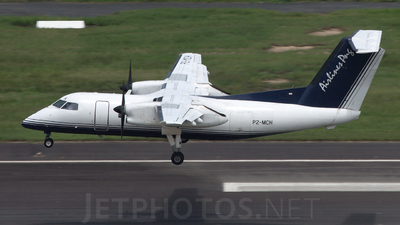 A picture of P2MCH - De Havilland Canada Dash 8100 - PNG Air - © Nathan Long