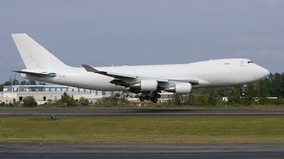 9K-DAB - Boeing 747-406ERF - Boeing Company